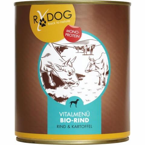 BIO-Hundefutter in Dose Sorte Rindfleisch