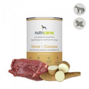 Nutricanis: nassfutter-hund-pferd-cassava