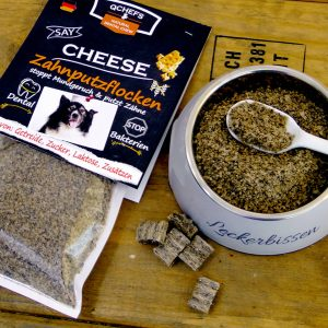 Qchefs zahnputzflocken cheese