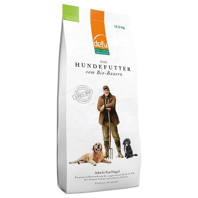 Defu Bio Trockenfutter für Hunde Geflügel