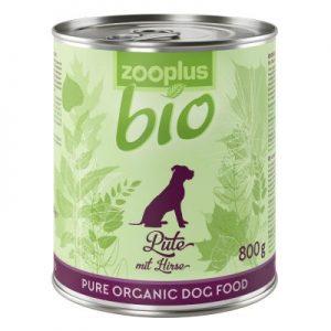Zooplus Pute mit Hirse Bio-Nassfutter für Hunde
