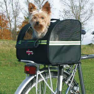 transporttasche fahrrad hund