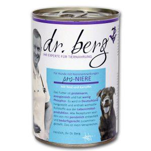 dr. berg Hundefutter bei niereninsuffizienz