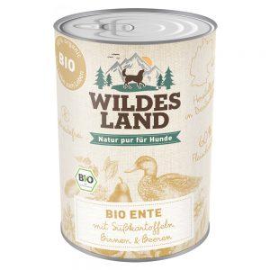 Hunde-Nassfutter Wildes Land Nassfutter BIO Ente mit Süßkartoffel