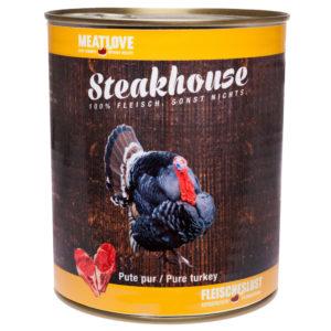 Steakhouse Barf-Fleisch in der Dose