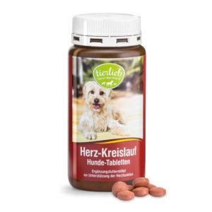 Herz-Kreislauftabletten für den Hund