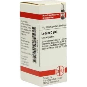 Ledum C 200 gegen Zecken