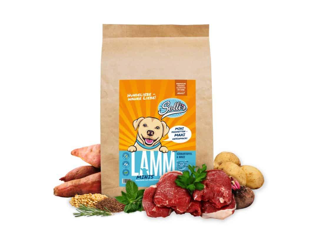 Trockenfutter Lamm-Minis